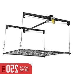 Heavy Lift Storage Rack in Black