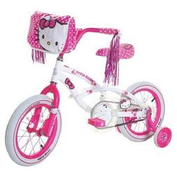 "Dynacraft Hello Kitty Girl's 14"" Bicycle Bike ~ NEW Ages 4-7"