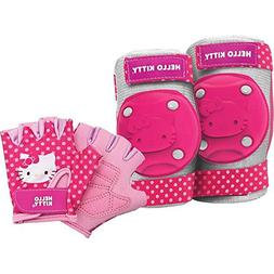 Bell Sports Hello Kitty Protective Gear Pad Set, Pink