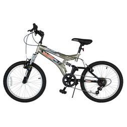 "Mongoose 20"" 7 Speed Hijinx Bike   Grey"