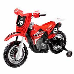 Honda CRF250R Scale Replica 6V Powered Ride-on Dirt Bike wit