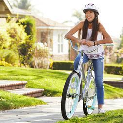 "Huffy 24"" Cranbrook Womens Comfort Cruiser Bike, Periwinkl"