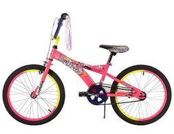 "20"" Huffy Glitzy Girls' Bike, Ages 5-9, Rider Height 44-56"""