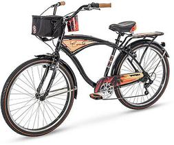 Huffy Panama Jack Beach Cruiser Bike 26 inch 6-Speed, Lightw