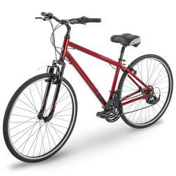 Royce Union Hybrid Comfort Bikes Mens RMY 700c Aluminum Red