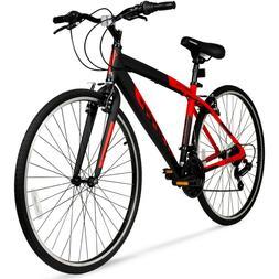 hybrid fitness bike aluminum frame men sport