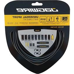 Jagwire Hyper Derailleur Cable and Housing Kit Ice Gray, One