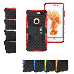 iPhone 8 Plus Stand Case, iPhone 7 Plus Stand Case, HLCT Rug