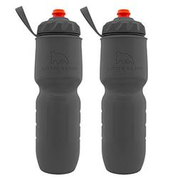 Polar Bottle 2 Pack Insulated Water Bottle 24 Oz BPA Free Sp