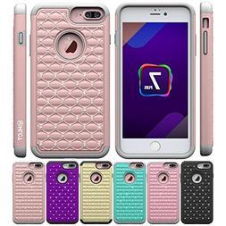 iPhone 8/7 Plus Case, HLCT Bling Diamond Soft-Interior Silic