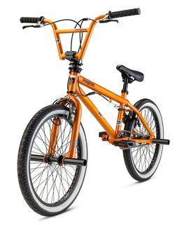 "Mongoose Jam Boys' BMX Bike, 20"" wheel, Orange Freestyle"