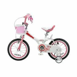 "14"" Royalbaby Jenny Girls' Bike, Pink"