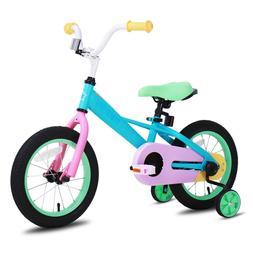 JOYSTAR 14 16 Inch Kids Bike Bicycle with Training Wheels Gi