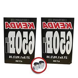 Set of 2 Brand New Kenda 700 x 18-23 Tubes Presta Valve 48mm