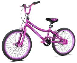 "Kent 20"" 2 Cool BMX Girl's Bike, Satin Purple, For Height Si"