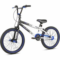 "Kent 20"" Ambush BMX Boy's Bike, Blue, For Height Sizes 4'2"""
