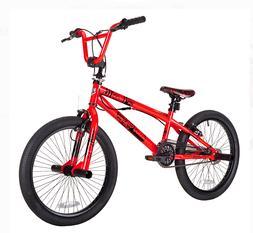 Kent 20 Inch Chaos Boys BMX Bike Neon Orange Freestyle Stunt