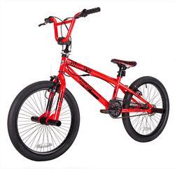 Kent 20 Inch Thruster Chaos Boys BMX Bike Neon Orange Foot P