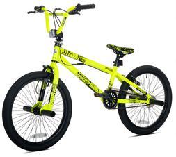 "Kent 20"" Thruster Boys', Chaos BMX Bike, Neon Yellow, For Ag"