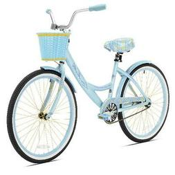 "Kent 24"" La Jolla Cruiser Girl's Bike, Light Blue"