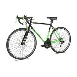 Kent 700c RoadTech Men's Bike, Black/Green, For Height Sizes