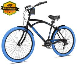 kent cruiser bike men 26 black comfort