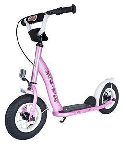 Bikestar 10 inch  Kids Kick Scooter Pink Fairy Design