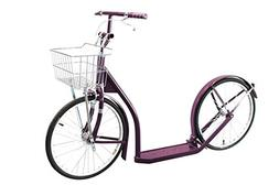 """Kick Scooter 20"""" Wheels Amish Made in USA  Plum"""