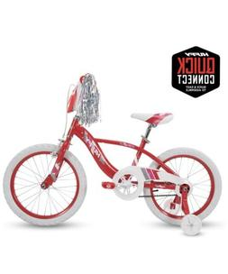 Huffy Kid Bike Glimmer Quick 16 inch wheel Cherry Red Quick