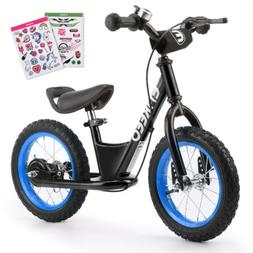 ENKEEO Kid Children Sport Balance Bike No Pedal Control Bicy