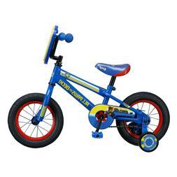 "Kids 12"" Paw Patrol Steel Frame Bicycle with Training Wheels"