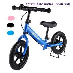 Kids Balance Bike No-Pedal Learn To Ride Pre-Bike Adjustable
