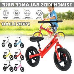 Kids Balance Bike Walker No Pedal Child Training Bicycle Toy