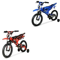 """Kids Bicycle Child Bikes Boys Girls Gift Blue Red 16"""" inch Y"""