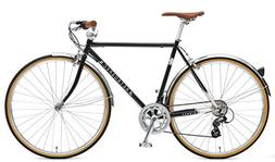 Retrospec Bicycles Kinney 14-Speed Vintage Hybrid Diamond Fl
