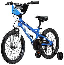 """Schwinn Koen Boy's Bike with SmartStart 18"""" Wheels Blue"""
