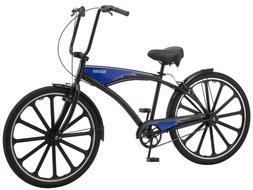 """Schwinn Kokomo 27.5"""" Men's Cruiser Bike-Black/Blue"""