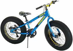 """Mongoose Kong 20"""" inch Boy's Fat Tire 7-Speed Mountain Bike"""