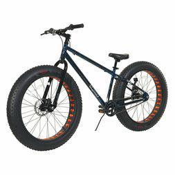"Dynacraft Krusher 26"" Men Black and Blue Fat Tire Bike"