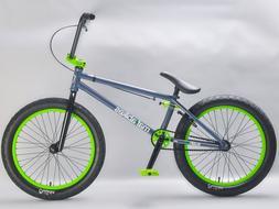 Mafiabikes KUSH 2+ 20 inch BMX bike Grey/Green