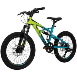 Huffy 20-inch 7-Speed Oxide Boys Mountain Bike for Kids Outd