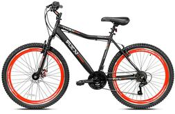 "26"" Men's Kent KZR Mountain Bike, Black/Red"