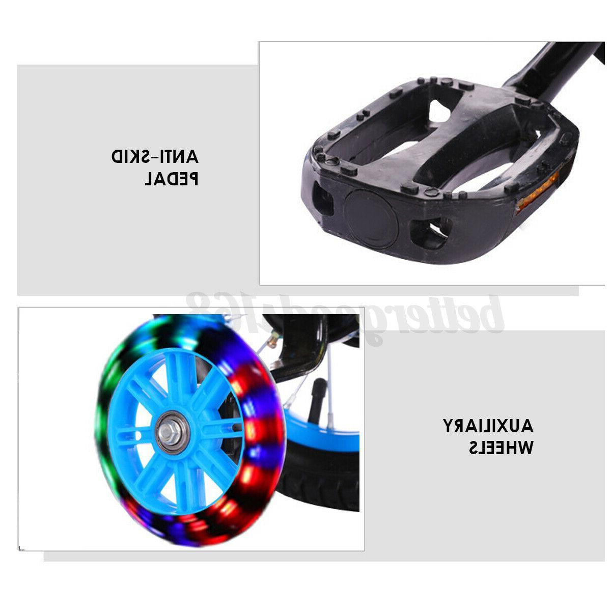 "12""/16"" Adjustable Training Wheel Girl Red"