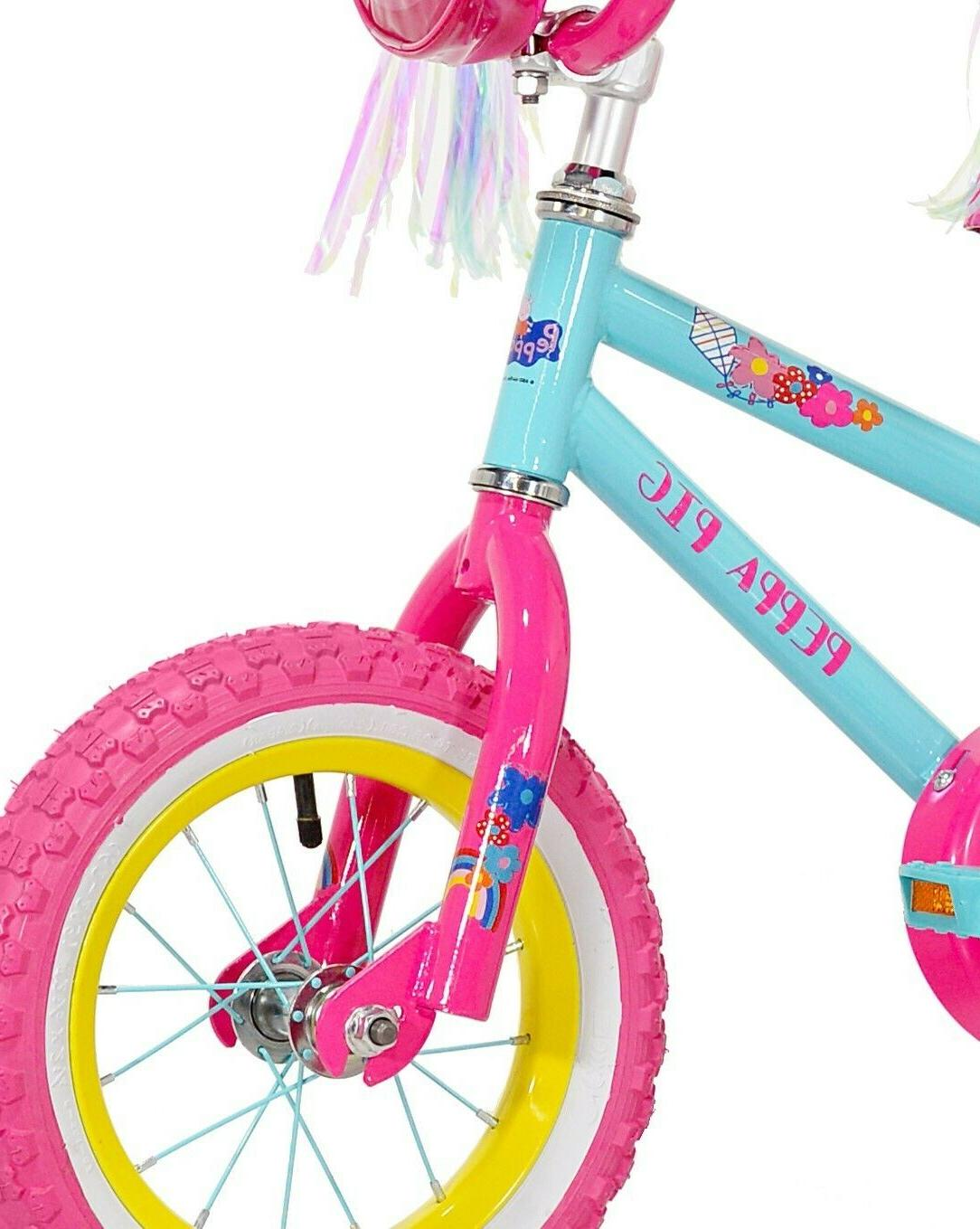 """Peppa Pig 12"""" Bike, Pink, For Sizes Up"""