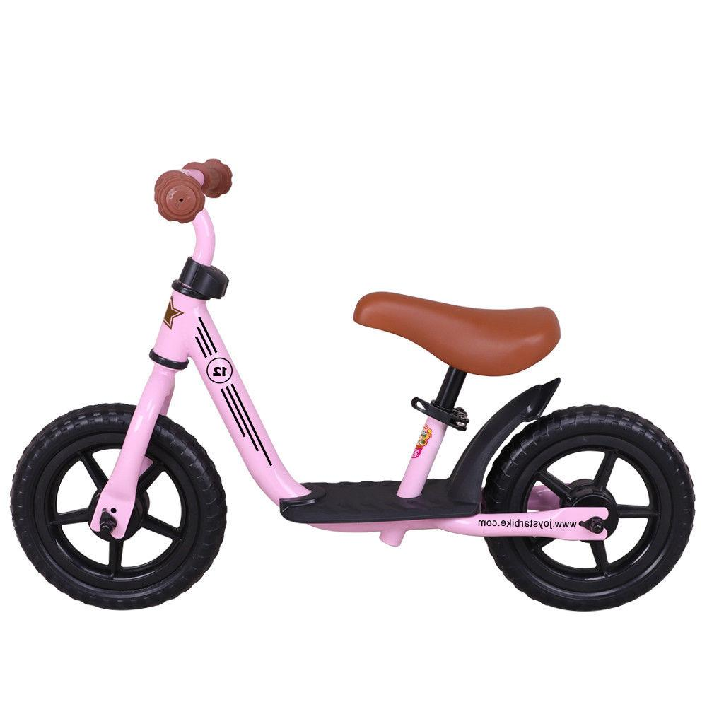 JoyStar 12 Inch Kids Balance Bike No Pedal Bicycle for 1.5 2