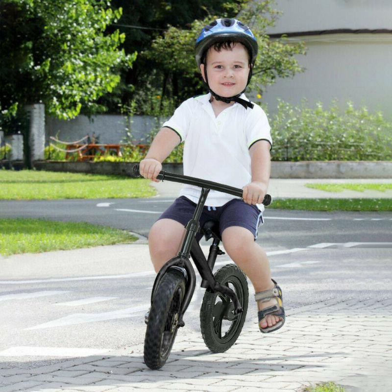 "12"" Balance Bike Kids No-Pedal Learn To Ride Pre Bike w/ Adj"