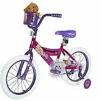 """16"""" Girls' Barbie Bike by Dynacraft"""
