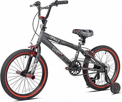 18 inch BMX Bike Charcoal Park
