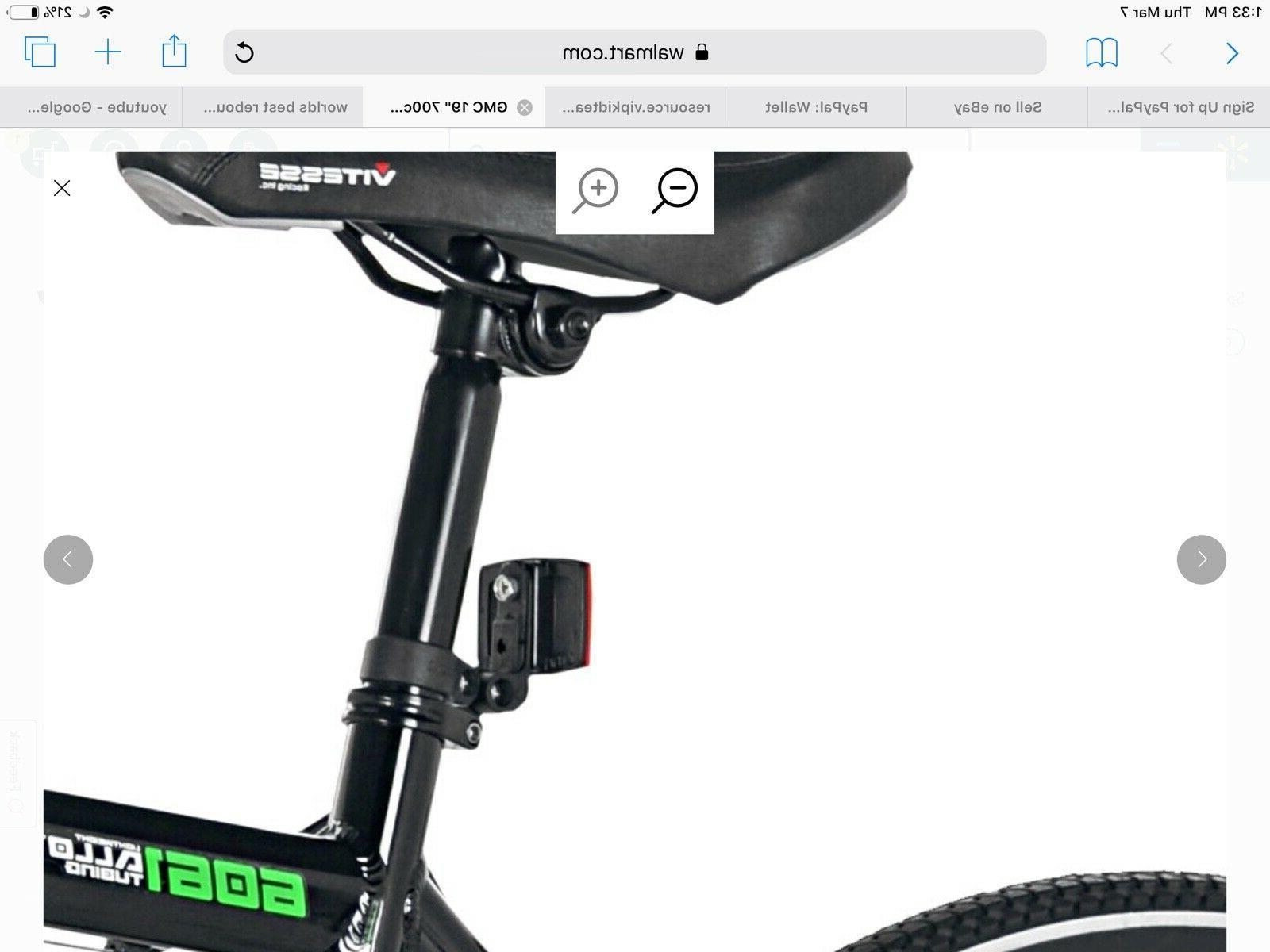 GMC Adult Denali Bike 28mm tires Bicycle