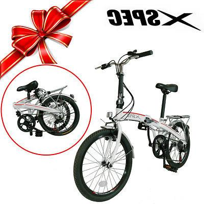 Xspec City Bike Bicycle Shimano White